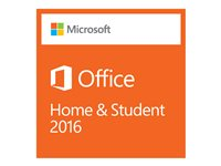 Microsoft Office Home and Student 2016 - boxpaket - 1 PC 79G-04358