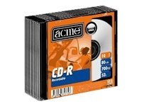 Acme - CD-R x 10 - 700 MB - lagringsmedier CD-R700/52x/10sb