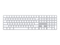 Apple Magic Keyboard with Numeric Keypad - tangentbord - italiensk - silver MQ052T/A