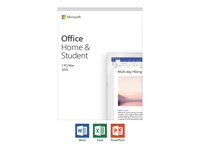 Microsoft Office Home and Student 2019 - boxpaket - 1 PC/Mac 79G-05030
